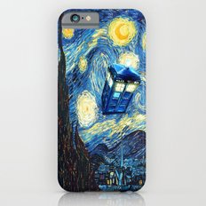 Soaring Tardis doctor who starry night iPhone 4 4s 5 5c 6, pillow case, mugs and tshirt iPhone 6s Slim Case