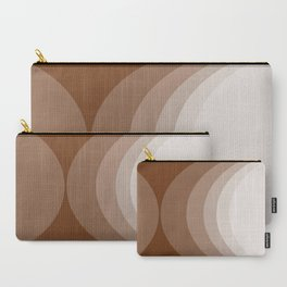 Moons - Chocolate Carry-All Pouch