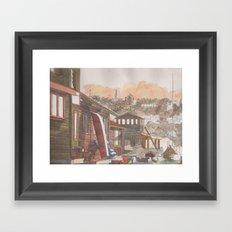 In The Dock Framed Art Print