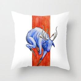 King Stag Throw Pillow