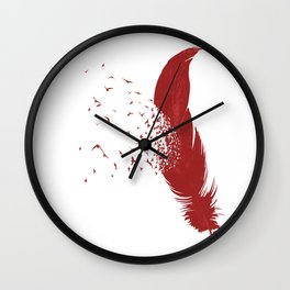 Birds of A Feather (Society6 Edition) Wall Clock