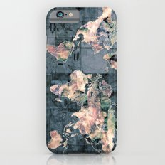 world map iPhone 6s Slim Case