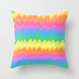 stripey Throw Pillow