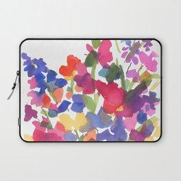 Flower Sprinkles Laptop Sleeve