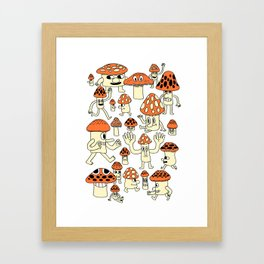 Fun Guys Framed Art Print