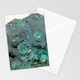 Natural Malachite Stationery Cards