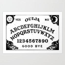 Cool ouija board good bye hocus pocus Art Print