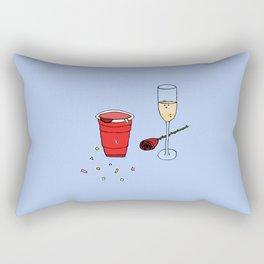 the weekend Rectangular Pillow