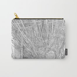 Kowloon walled city. Hong Kong Carry-All Pouch