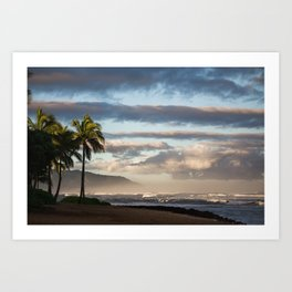 North Shore Hawaii Art Print