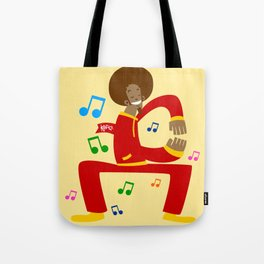Köpke's Dance Off! Tote Bag
