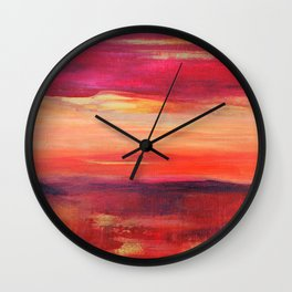 The Golden Lining Wall Clock