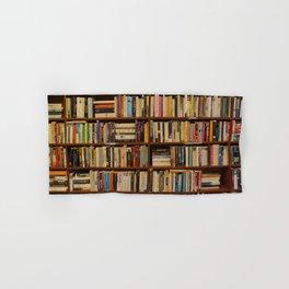 Bookshelf Books Library Bookworm Reading Hand & Bath Towel