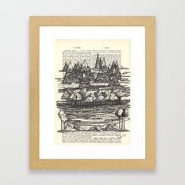 Doodle View Framed Art Print