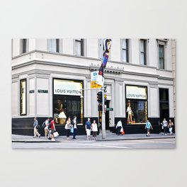 LV building Canvas Print