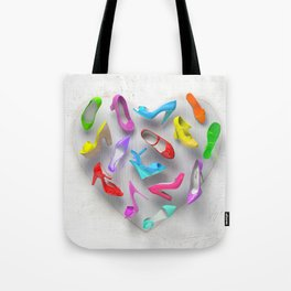 Juicy Shoes Tote Bag