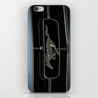 mustang iPhone & iPod Skins featuring Mustang  by Cozmic Photos