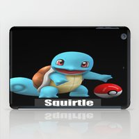 squirtle iPad Cases featuring Squirtle 2 by Yamilett Pimentel