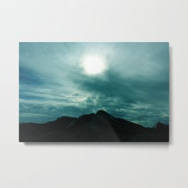 Other Worldly Sky Metal Print