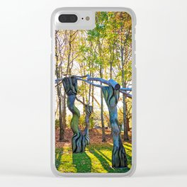 Autumn Dance Clear iPhone Case