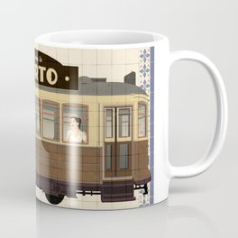 Travel Posters  - Porto Tram Coffee Mug