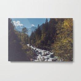 Blausee, Switzerland Metal Print