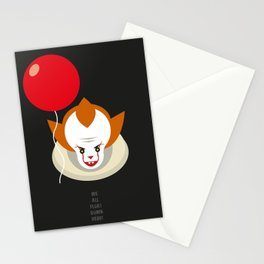 We all float down here.... Stationery Cards