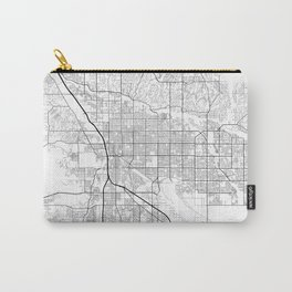 Minimal City Maps - Map Of Tucson, Arizona, United States Carry-All Pouch