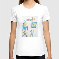 workout T-shirts featuring Dad's Workout Time by Dozer and Beans