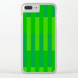Grass (from a series) Clear iPhone Case