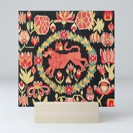 Agedyna Swedish Skåne Province Carriage Cushion Print Mini Art Print