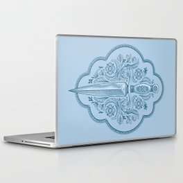 Ornamental Dagger Laptop & iPad Skin