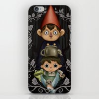 over the garden wall iPhone & iPod Skins featuring Over the Garden Wall. by toibi