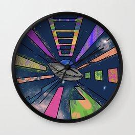 Space Cruising Wall Clock