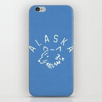 alaska iPhone & iPod Skins featuring Alaska by Roland Lefox