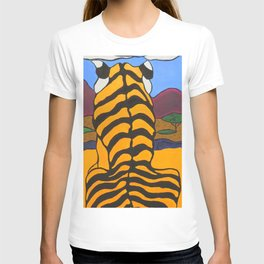 Stain glass Tiger T-shirt