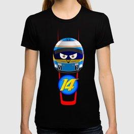 Fernando ALONSO_Helmet 2015 #14 T-shirt