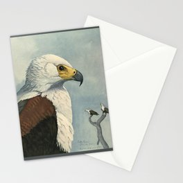 Album of Abyssinian Birds & Mammals 1930 (African Sea Eagle Stationery Cards