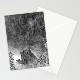 Rocks in the falls Stationery Cards