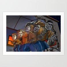 Enter The Hulk! Art Print