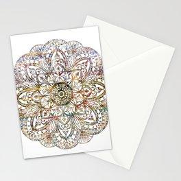 fall mandala Stationery Cards