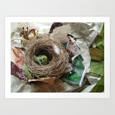 Urban Nests | 01 Art Print