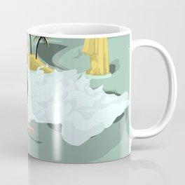 Lonely Surfer Vivo Coffee Mug