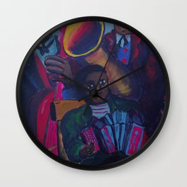 The Funeral Procession Wall Clock