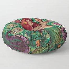 Sous La Mer Floor Pillow