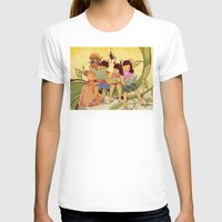 fairy tale T-shirts featuring Fairy Tale by Radical Ink by JP Valderrama