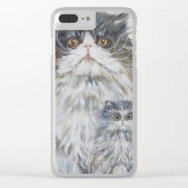 Mini Me Clear iPhone Case