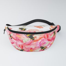Bee Blossoms Fanny Pack