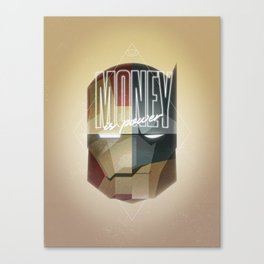 MONEY IS POWER Canvas Print