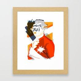 Louis XVI Framed Art Print